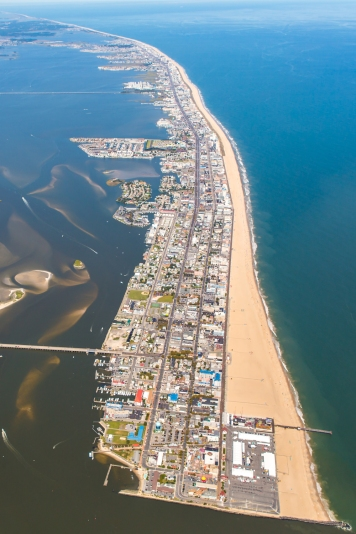 aerial-view-of-town-of-ocean-city-maryland